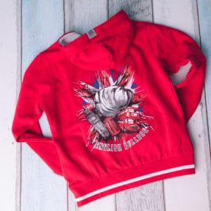 Bluza damska czerwona